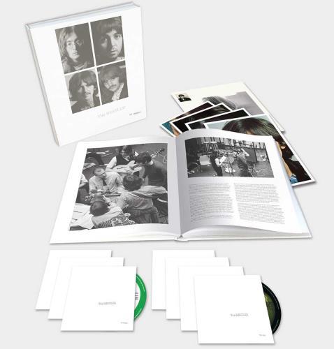 The Beatles The Beatles (White Album) - 50th Anniversary - Sealed Super Deluxe Box CD Album Box Set UK BTLDXTH707739