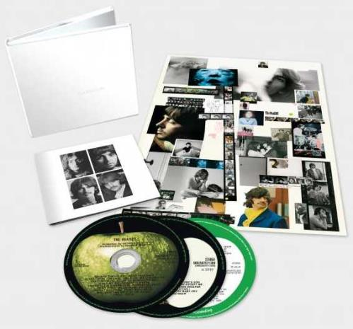The Beatles The Beatles (White Album) - Sealed 3-CD album set (Triple CD) UK BTL3CTH708376
