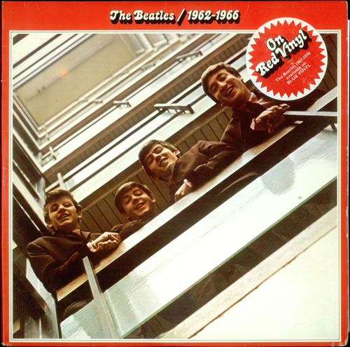 The Beatles The Beatles 1962 1966 Red Ex Hype