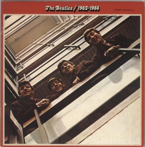 The Beatles The Beatles / 1962-1966 - Red Vinyl 2-LP vinyl record set (Double Album) Japanese BTL2LTH749803