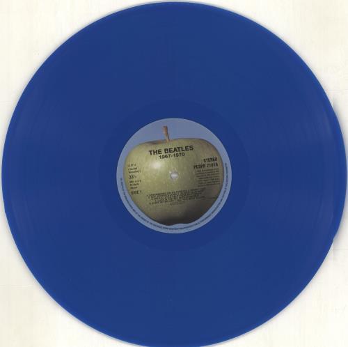 The Beatles The Beatles / 1967-1970 - Blue - Remaster - EX 2-LP vinyl record set (Double Album) UK BTL2LTH714877