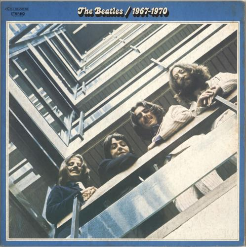 The Beatles The Beatles / 1967-1970 - Blue Vinyl 2-LP vinyl record set (Double Album) French BTL2LTH551155