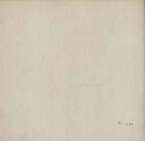 The Beatles The Beatles [White Album] - 1st - VG vinyl LP album (LP record) UK BTLLPTH555397