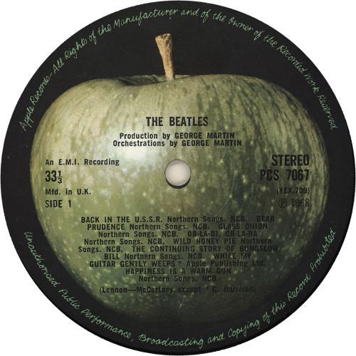 The Beatles The Beatles White Album 2nd Uk 2 Lp Vinyl