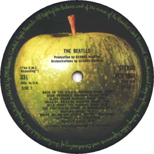The Beatles The Beatles [White Album] - All Rights - Complete vinyl LP album (LP record) UK BTLLPTH366573