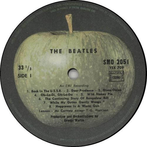 The Beatles The Beatles White Album Black Vinyl