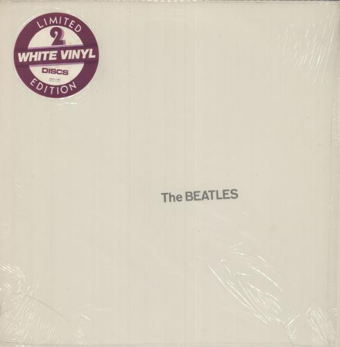 The Beatles The Beatles [White Album] - White - shrink 2-LP vinyl record set (Double Album) US BTL2LTH252545