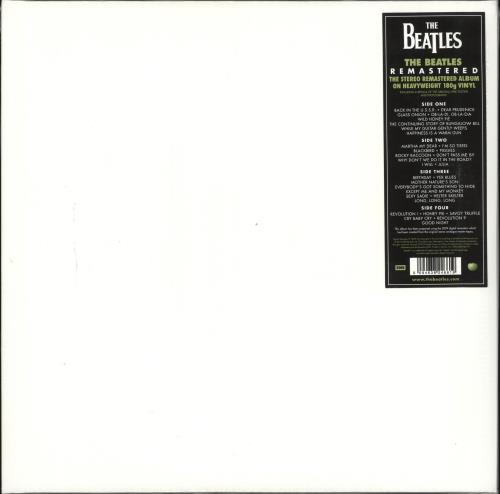 The Beatles The Beatles [White Album] 2-LP vinyl record set (Double Album) UK BTL2LTH713913