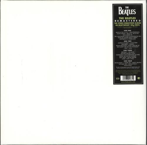 The Beatles The Beatles [White Album] 2-LP vinyl record set (Double Album) UK BTL2LTH713913
