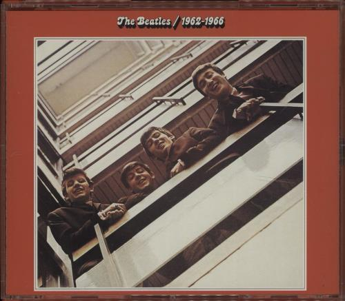 The Beatles The Beatles 1962-1966 / 1967-1970 4-CD album set UK BTL4CTH670346