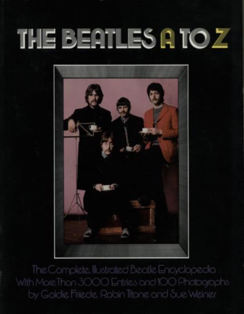 The Beatles The Beatles A To Z book US BTLBKTH599530