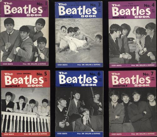 The Beatles The Beatles Book - 1st - 35 Issues magazine UK BTLMATH734204