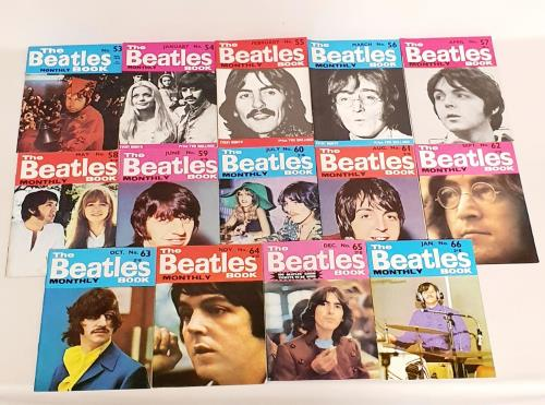 The Beatles The Beatles Book - 2nd - 14 Issues magazine UK BTLMATH761721