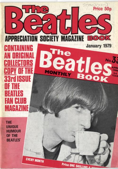 The Beatles The Beatles Book No. 33 - 2nd magazine UK BTLMATH481814