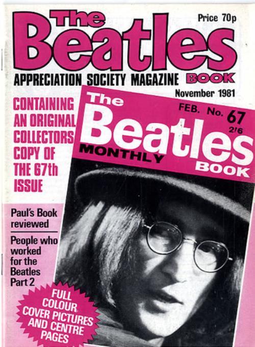 The Beatles The Beatles Book No. 67 - 2nd magazine UK BTLMATH593993