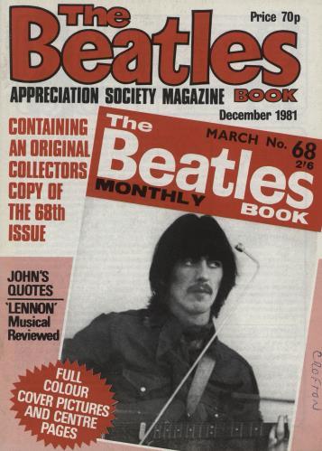 The Beatles The Beatles Book No. 68 - 2nd magazine UK BTLMATH761725