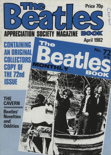 The Beatles The Beatles Book No. 72 - 2nd magazine UK BTLMATH761731