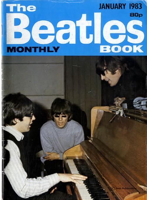 The Beatles The Beatles Book No. 81 magazine UK BTLMATH594007