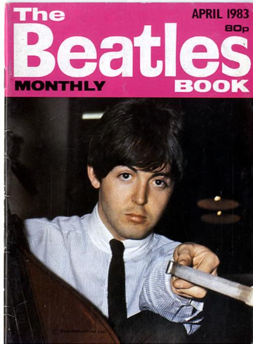 The Beatles The Beatles Book No. 84 magazine UK BTLMATH594011