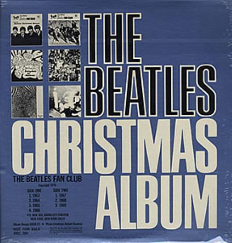 The Beatles The Beatles Christmas Album - Sealed vinyl LP album (LP record) US BTLLPTH358632