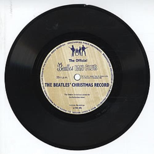 """The Beatles The Beatles' Christmas Record - 'Late' Issue 7"""" vinyl single (7 inch record) UK BTL07TH319755"""