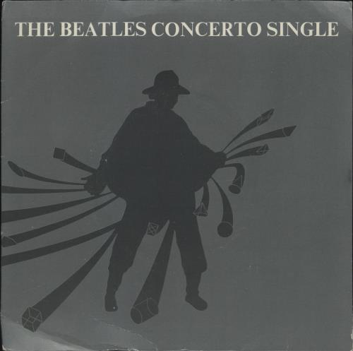 """The Beatles The Beatles Concerto Single - Demo - Picture Sleeve 7"""" vinyl single (7 inch record) UK BTL07TH762608"""