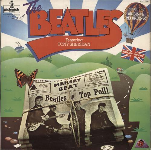 The Beatles The Beatles Featuring Tony Sheridan - EX vinyl LP album (LP record) UK BTLLPTH749790