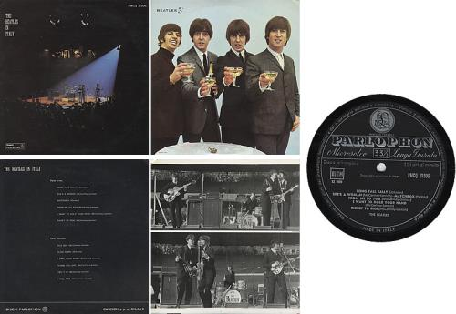 The Beatles The Beatles In Italy Italian Vinyl Lp Album