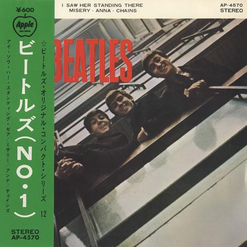 "The Beatles The Beatles No. 1 7"" vinyl single (7 inch record) Japanese BTL07TH441780"