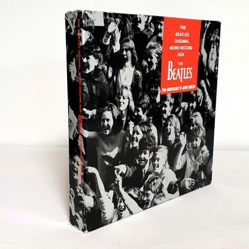 The Beatles The Beatles Original Mono-Record Box - Red Vinyl - Complete Fan Club Issue Vinyl Box Set Japanese BTLVXTH760936