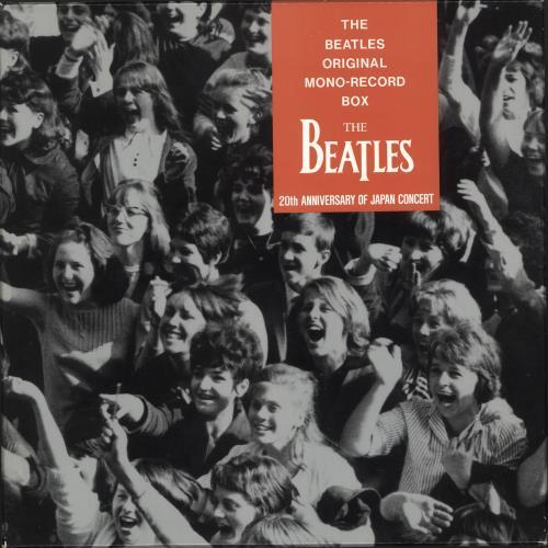 The Beatles The Beatles Original Mono Record Box Red