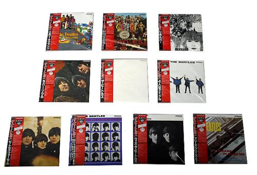 The Beatles The Beatles Original Mono-Record Box - Red Vinyl Vinyl Box Set Japanese BTLVXTH283433