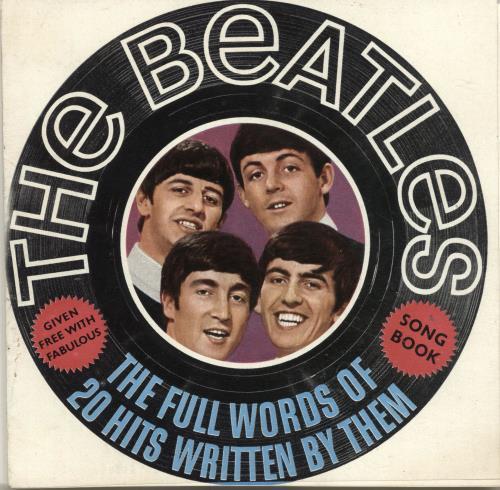 The Beatles The Beatles Song Book UK memorabilia (268379