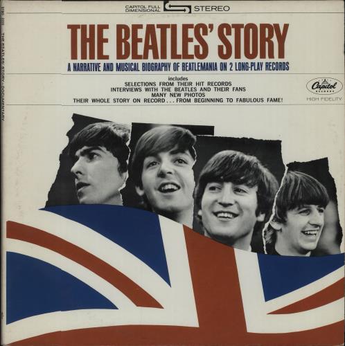 The Beatles The Beatles' Story - Purple 2-LP vinyl record set (Double Album) US BTL2LTH271365