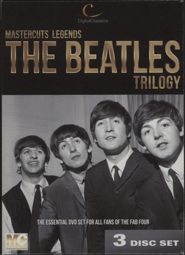 The Beatles The Beatles Trilogy DVD UK BTLDDTH673637