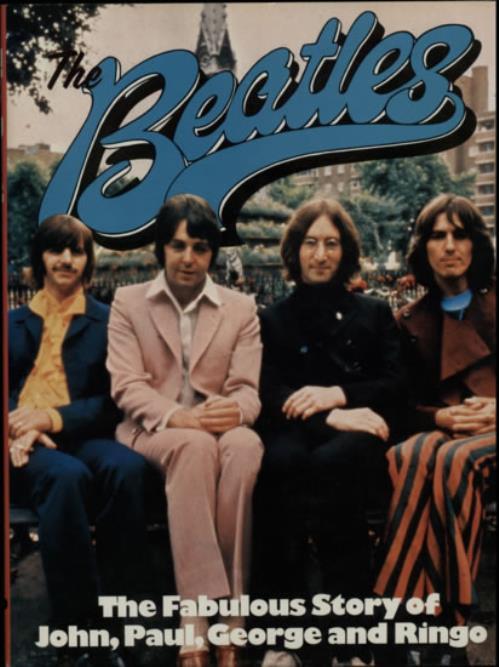 The Beatles The Beatles: The Fabulous Story book UK BTLBKTH222174