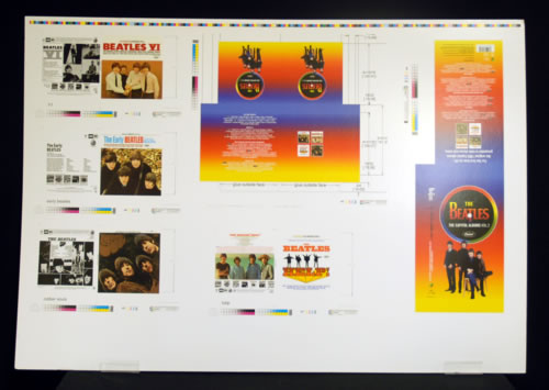 The Beatles The Capitol Albums Vol. 2 artwork US BTLARTH593189