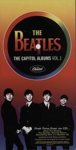 The Beatles The Capitol Albums Vol.1 4-CD album set UK BTL4CTH588641