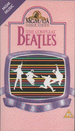 The Beatles The Compleat Beatles - In Concert video (VHS or PAL or NTSC) UK BTLVITH334220