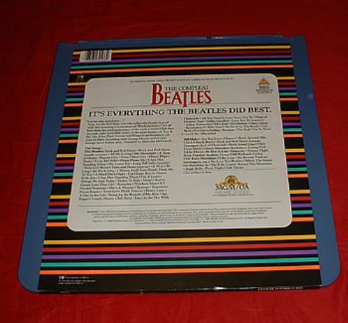 The Beatles The Compleat Beatles laserdisc / lazerdisc US BTLLZTH305524