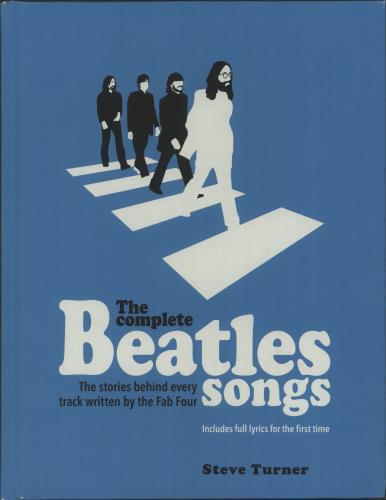 The Beatles The Complete Beatles Songs book UK BTLBKTH661260