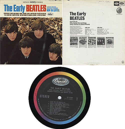 Image result for the early beatles LP images