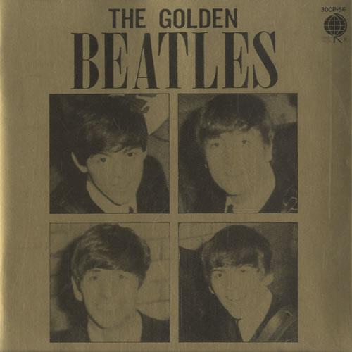 The Beatles The Golden Beatles CD album (CDLP) Japanese BTLCDTH464259