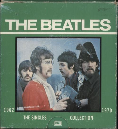The Beatles The Singles Collection 1962-1970 - 1976 Retail + Box Vinyl Box Set UK BTLVXTH744473