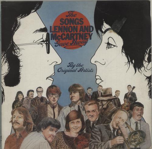The Beatles The Songs Lennon And McCartney Gave Away - Test Pressing vinyl LP album (LP record) UK BTLLPTH686246