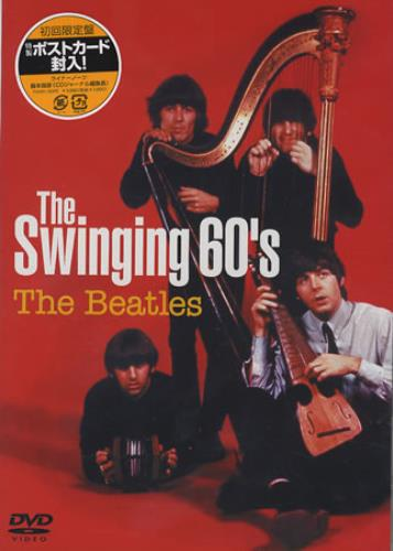 The Beatles Swinging 60s DVD Japanese BTLDDTH366054