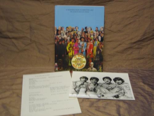 The Beatles The Year Of Sgt. Pepper - A Granada Film Celebrating 1967 media press pack UK BTLPPTH344598