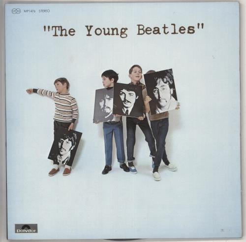 The Beatles Young Vinyl LP Album Record Japanese BTLLPTH209869