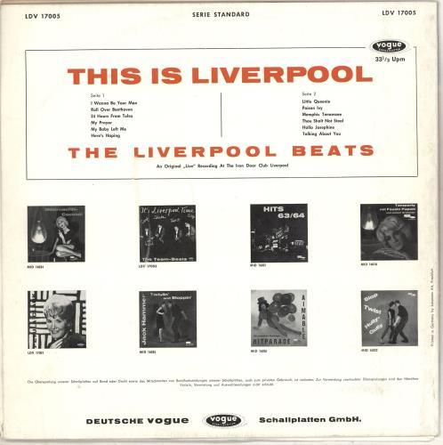 The Beatles This Is Loverpool -  Live At The Iron Door vinyl LP album (LP record) German BTLLPTH706891