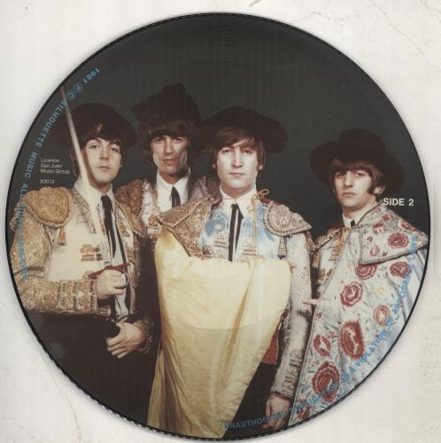 The Beatles Timeless picture disc LP (vinyl picture disc album) US BTLPDTI712186